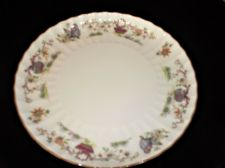 ELEGANT HIGH RIM CAKE SANDWICH PLATE ROYAL WORCESTER PEKIN EXCELLENT UNUSED